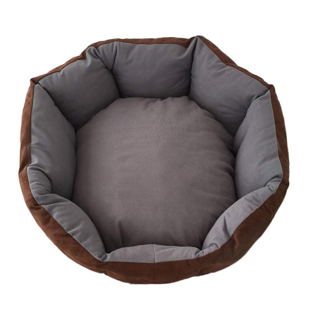G XL G XL Round Pet Bed,Ultra Soft & Cozy cat Dog mat eases pet Arthritis & Hip dysplasia Puppy Kitten Warm Kennel Cushion-G XL