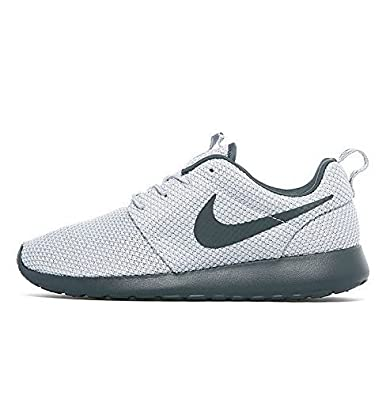 Nike Roshe Run Mens Trainers Shoes Wolf Grey/Anthracite (UK-9)
