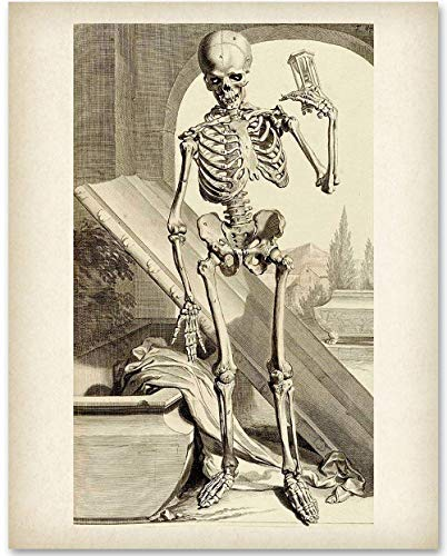Death Comes in Time - 11x14 Unframed Art Print - Great Gift for Gothic Culture Lovers