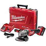 Milwaukee Electric Tool 2780-21 M18 18V Grinder, 4-1/2""