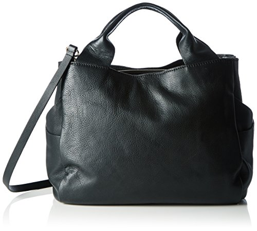 Clarks Talara Star, Borsa con Maniglia Donna Nero (Black Leather)