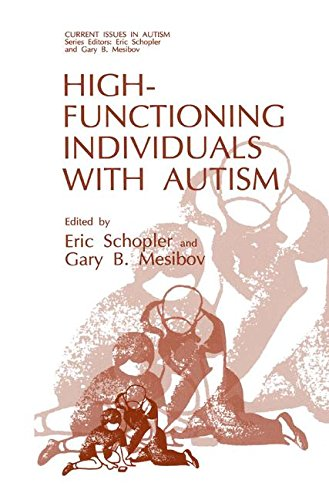 High-Functioning Individuals with Autism (Current Issues in Autism)