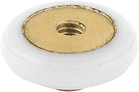 Plástico rodamiento de poleas armario para puerta corredera rodillo 17 mm de diámetro: Amazon.es: Bricolaje y herramientas