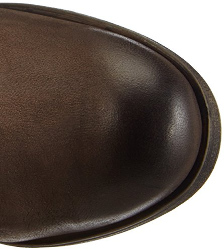 Bugatti J57375G - botas de caño alto de cuero mujer marrón - Braun (dunkeltaupe 241)