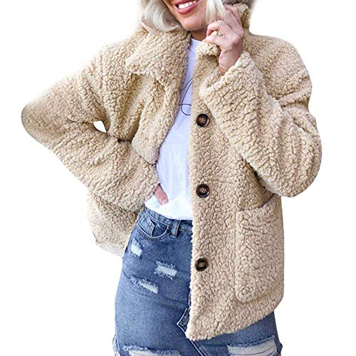 A Donna Da Risvolto Jacket In Maniche Outwear Khaki Giacca Inverno Marca Calda Pile Cappotto Lunghe Softshell Warm Down Invernale De Outdoor Coat Mode Cardigan Con sQrdhCt