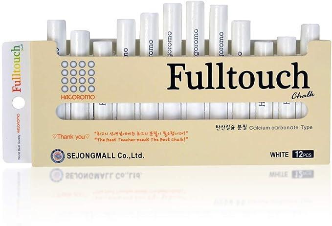HAGOROMO Fulltouch Color Chalk 1 Box 72 Pcs//3 Color Mix