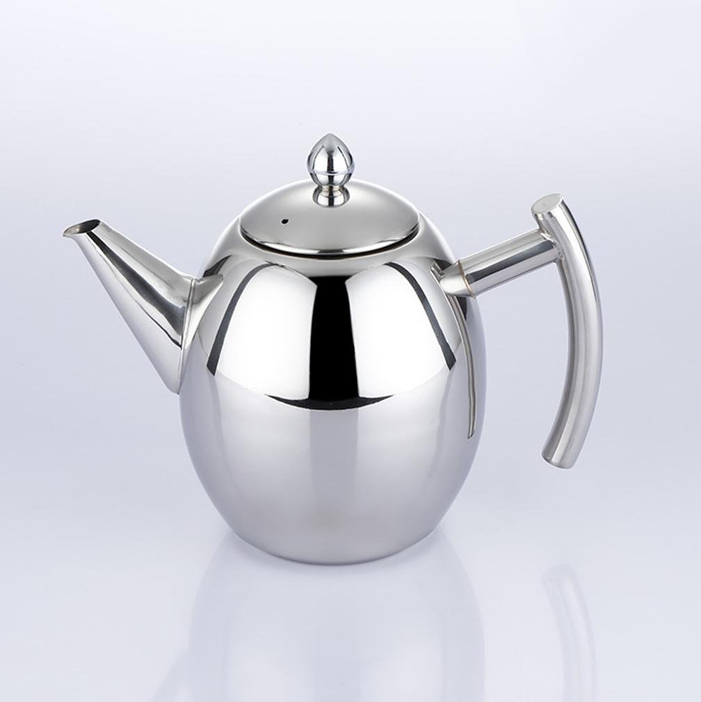 XUEXIN Stainless steel coffee pot handle induction cooker boil the kettle Kung Fu tea Kettle teapot , 1l by XUEXIN