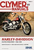 img - for Clymer Harley-Davidson: FLS/FXS Soft Tail Big-Twin Evolution 1984-1999 book / textbook / text book