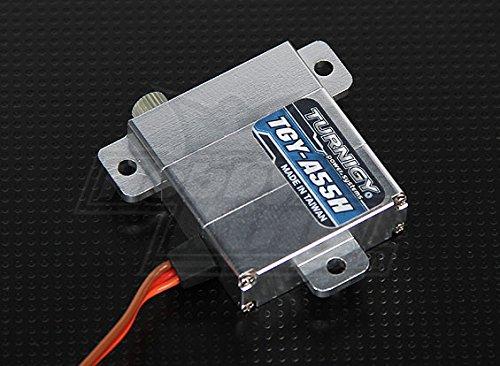 Turnigy TGY-A55H Alloy Case Digital Slim Wing Servo (Metal Gear) 8.6kg / .12sec / 28g