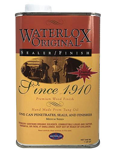 Oak Oil Danish (Title: Waterlox Original Sealer/Finish for Wood, Brick, Stone, Tile & More - 1 Quart (TB 5284))