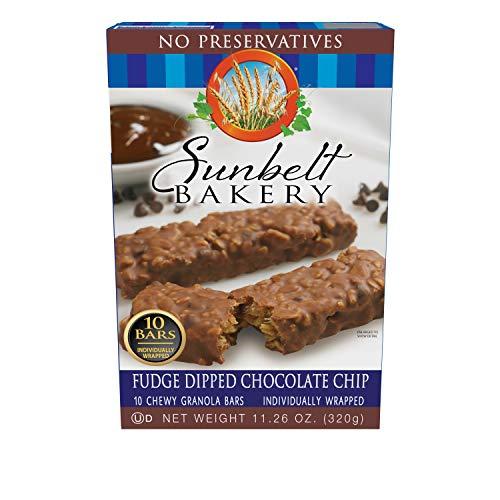 Sunbelt Bakery Fudge Dipped Chocolate Chip Chewy Granola Bars, 50 Bars ()