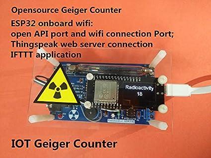 Networkable Kit de contador Geiger ensamblado profesional, detector de radiación nuclear, tubo GM, radiación de rayo de tibias: Amazon.es: Industria, ...
