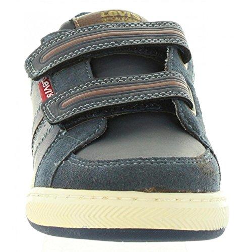 Stiefel für Junge und Mädchen und Damen LEVIS VCLU0005S CLUB 0208 NAVY BROWN