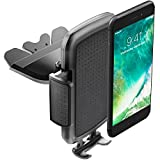 ToHayie Universal CD Slot Car Mount,Car Phone Holder for iPhone 7/7Plus/6s/6Plus/5S,Samsung Galaxy S5/S6/S7,LG and all Smartphones up to 6