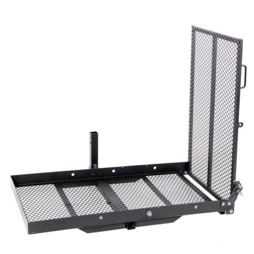 Mobility Carrier Wheelchair Scooter Rack Disability Medical Ramp Hitch Mount Steel New by T-Foot (Image #2)