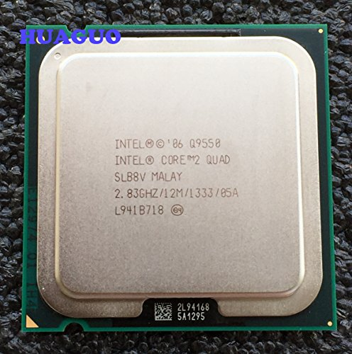 Intel Core 2 Quad Q9550 2.83 GHz 1333MHz 12 MB Quad-Core CPU Processor SLB8V SLAWQ LGA 775 (Best Motherboard For Core 2 Quad)