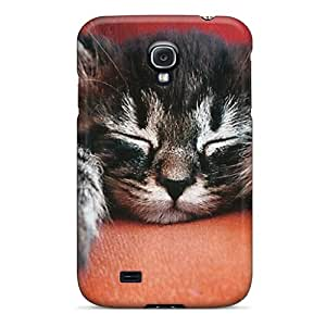 Ideal Ottercases Case Cover For Galaxy S4(a Tabby Kitten Sleeping), Protective Stylish Case