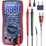 AstroAI Digital Multimeter, TRMS 6000 Counts Volt Meter Manual and Auto Ranging; Measures Voltage Tester, Current, Resistance, Continuity, Frequency; Tests Diodes, Transistors, Temperature, Best Gift for Men