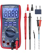 AstroAI Digital Multimeter, Multimètre, TRMS 6000 Counts Volt Meter Manual and Auto Ranging; Measures Voltage Tester, Current, Resistance, Continuity, Frequency; Tests Diodes, Transistors, Temperature, Gift for Man, Cadeau