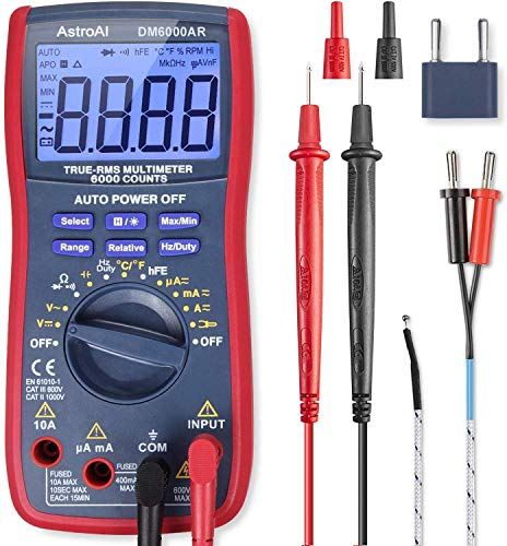 AstroAI- Best Multimeter for DIY Electronics
