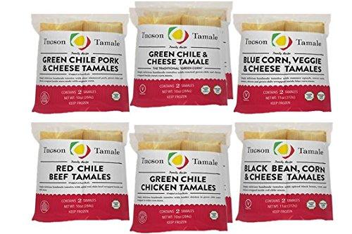 16 5oz. Gourmet Tamales - Tucson -