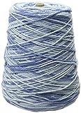 Lily 10300202181 Sugar N Cream Yarn, 14 Ounce Cone, Faded Denim, Single Ball