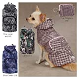 Rainy Day Dog Jackets Size: XX-Small, Color: Blue Denim, My Pet Supplies