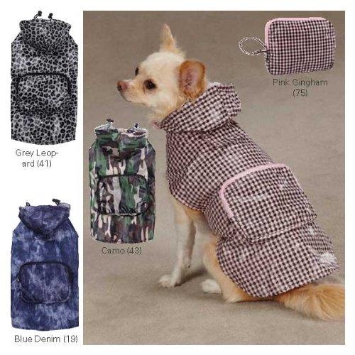 Casual Canine Rainy Day Pet Jacket Camo Medium