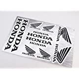 Honda Stickers Decals 30x20cm vinyl with extra protection on top