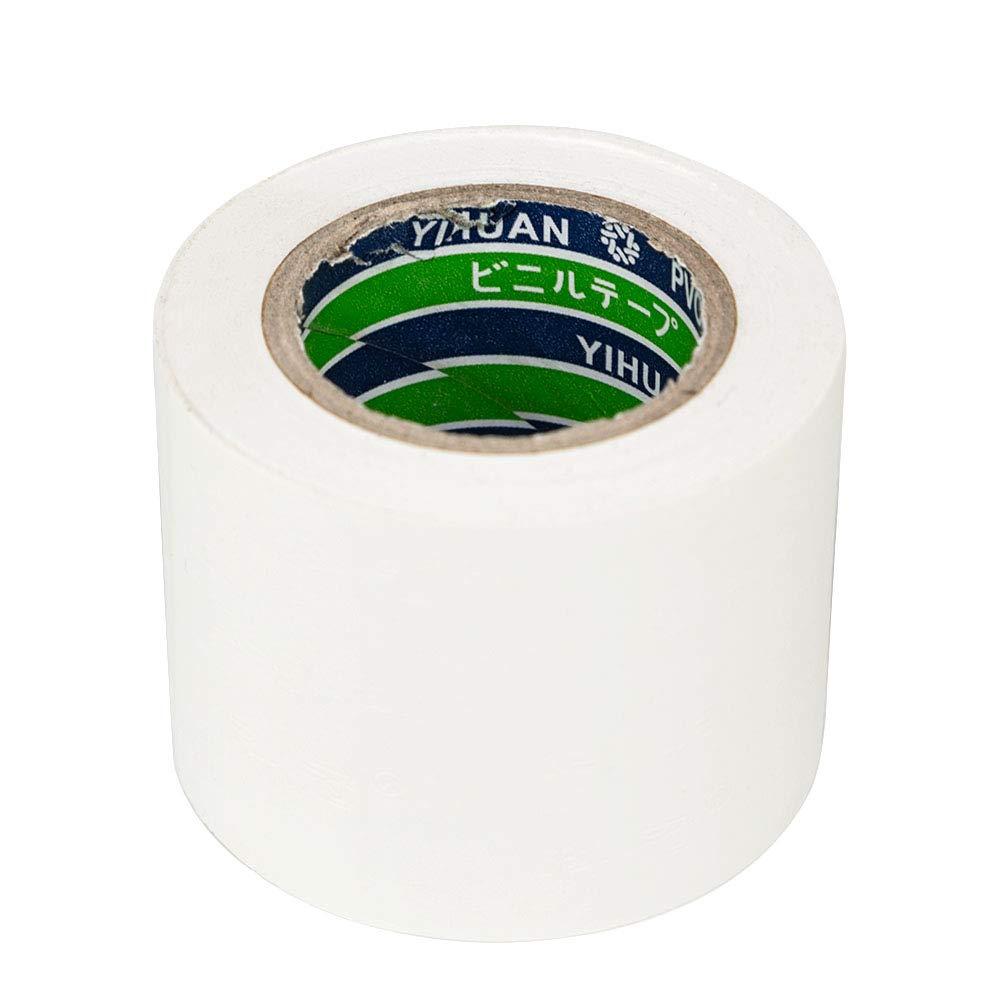 imperm/éable Ruban adh/ésif isolant en PVC 50 mm forte adh/érence r/ésistant /à l/étirement et robuste.