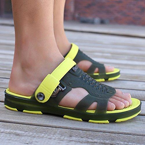 5 Non Tå Sandaler slip Eu43 Størrelse D Sommer Uk9 Cn45 Uformell Åpen farge Mazhong Menn D ww4qaYO