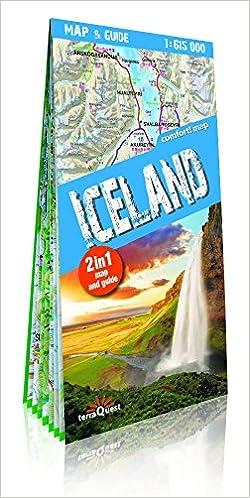 Islandia, mapa y guía XXL 1:615.000 mapa plastificado. TerraQuest.: Amazon.es: VV.AA.: Libros en idiomas extranjeros