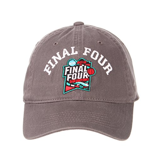 Zephyr NCAA Final Four 2018 Men's Scholarship Relaxed Hat, Adjustable, Gray