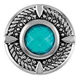 Ginger Snaps ROPE TIDE TURQUOISE CRACKLE SN09-51 (Standard Size) Interchangeable Jewelry