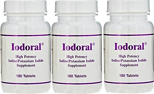 Optimox Iodoral Potency Iodine tablets