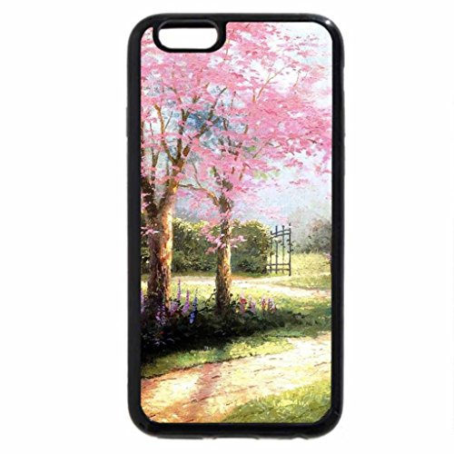 iPhone 6S / iPhone 6 Case (Black) dogwood spring