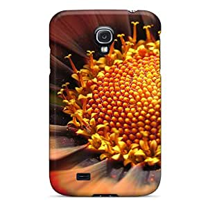 OTBOX Galaxy S4 Well-designed Hard Case Cover Flower Closeups Protector