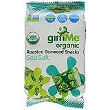 GimMe Organic Roasted Seaweed Snacks, Sea Salt, 0.17 Ounce by Gimme Health Foods