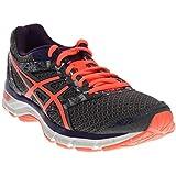 ASICS Women's Gel-Excite 4 Running Shoe, Shark/Flash Coral/Parachute Purple, 10 M US