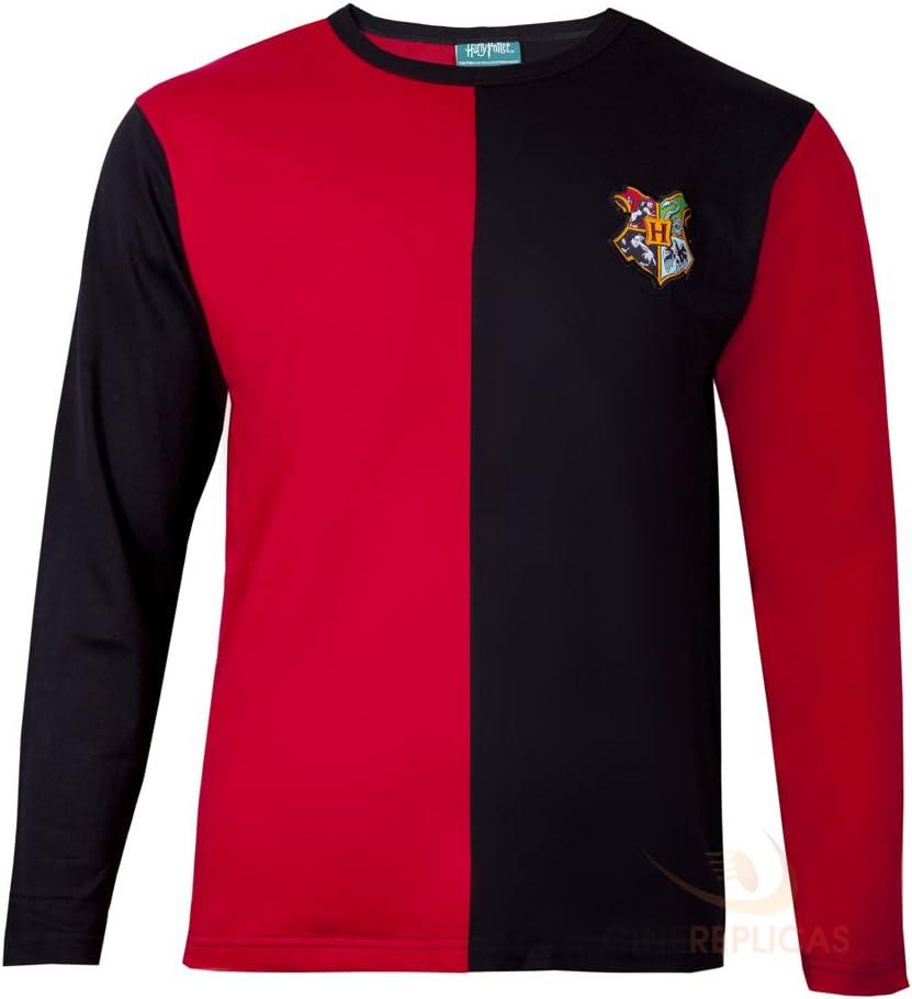 Maglia Harry Potter Hufflepuff Tasso rosso T-shirt Maglietta Hogwarts School