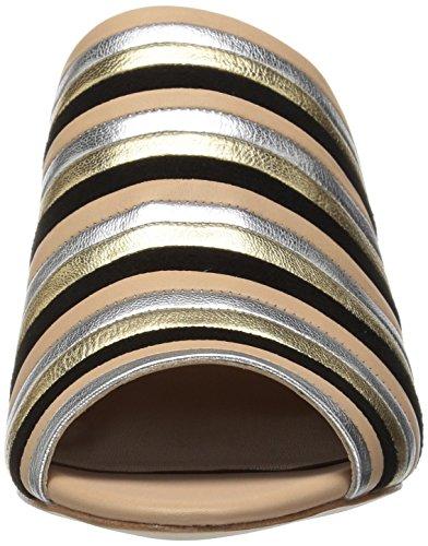 Women's Loeffler Randall Multi Wheat Stripe Kenna Mule ROFnO87