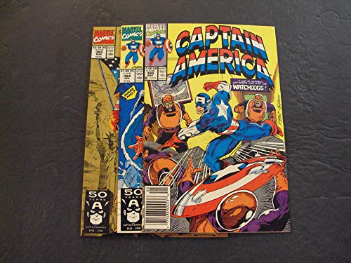 3 Iss Captain America #383-385 Mar-May