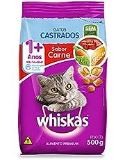 Ração Whiskas para Gatos Adultos Castrados