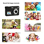 Digital-Camera-Youmeet-27-inch-LCD-Rechargeable-Cameras-18MP-Compact-Camera-IndoorOutdoor-Pocket-Camera-for-AdultKidsChildrenSchool-Students-Black
