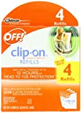 OFF! Clip-on Refills, 4 Count, Health Care Stuffs