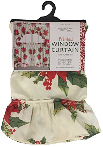 Christmas Kitchen Curtains - Red Christmas Kitchen Curtains & More ...