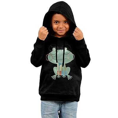 Baby Kids Hoodies Sweatshirt, Frog Toddler Hoodies Boy Girl Tops Pullover