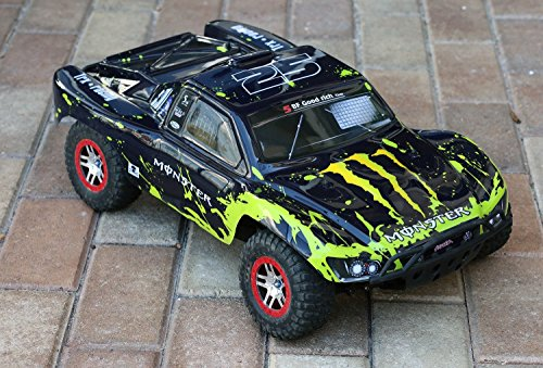 Muddy Monster Body for 1/10 Traxxas Slas - Baja Truck Body Shopping Results