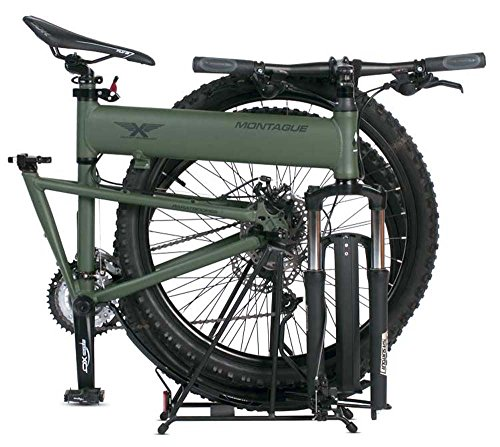 "Montague Paratrooper MTB 20"" Cammy Green 24 Speed Folding Mountain Bike"