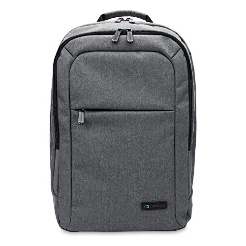Pro Laptop Backpack (15 inch MacBook Pro Laptop CaseCrown Waltham Backpack (Gray) w/ Padded Compartment)